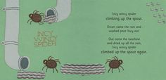 Incy Wincy Spider - These spiders are not so spooky and they are ready to join the Halloween fun.