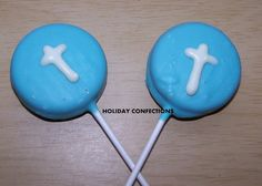 Double Stuff Oreo Cookies with a cross - baptism favors - first communion favors - party favors - Easter on Etsy, $14.00