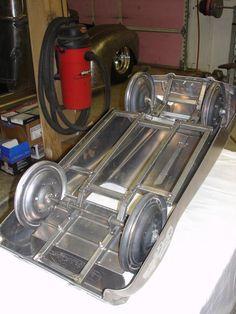 Pedal car frame