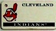 """This is an MLB Cleveland Indians Team License Plate Key Chain or Tag. An excellent and affordable gift for an avid MLB fan! The key chain is available with engraving or without engraving. It is a standard key chain made of durable plastic and size is approximately 1.13"""" x 2.25"""" and 1/16"""" thick."""
