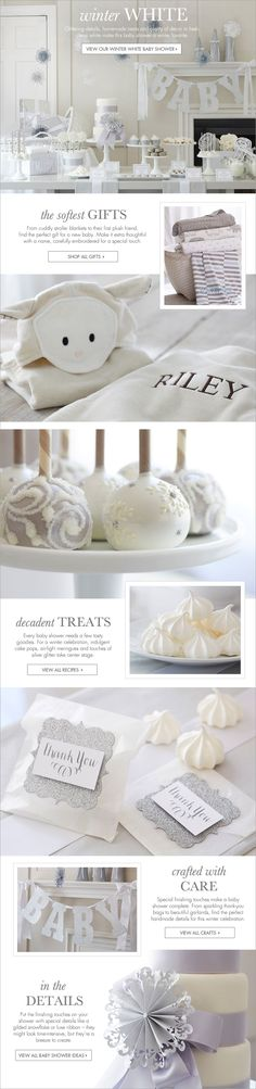 46 ideas baby shower cake white decoration for 2019 Baby Shower Drinks, Shower Party, Baby Shower Cakes, Baby Shower Parties, Baby Shower Themes, Baby Boy Shower, Baby Shower Gifts, Shower Ideas, Baby Shower Winter