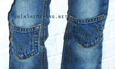 15 creative ways to patch pants - Nap-time Creations