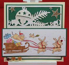 Tinas kreative Seite - #8 von 24 Squares for Christmas
