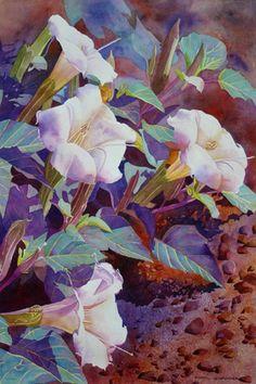 """Sacred Datura"" By Cheryl Weinfurtner"