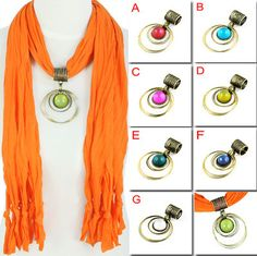 7pcs/lot, Wholesale Scarf Pendant Round Resin in Vintage Brass Rings, PT-391