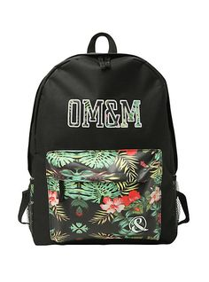 Of Mice & Men Tropical Floral Backpack | Hot Topic