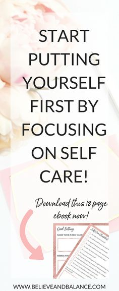 Self Care Success Kit - www.believeandbalance.com
