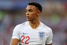 Trent Alexander-Arnold is the fourth teenager in England history to start a World Cup match England Players, Gareth Southgate, Alexander Arnold, World Cup Match, Tottenham Hotspur Fc, England Football, Cute Celebrities, Lionel Messi, Liverpool Fc