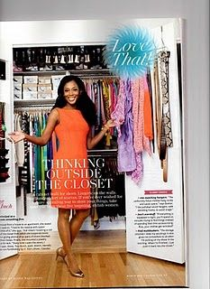 Small but Ample Closet @ O Magazine