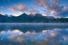 63664 Herbert Lake, Banff by wild prairie man, via Flickr