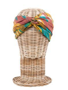 Turbante HONOLULU / Hippie, boho-chic, ethnic style. Fashion, Casual Style. Rosebell turban - Beach style