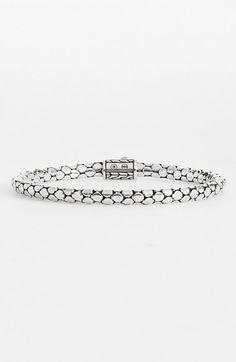 John Hardy Dot Chain Bracelet available at #Nordstrom