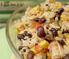 Mexican Rice Salad - always looking for cold salads to take to picnics!