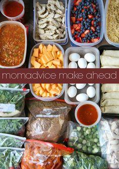 The MomAdvice Make-Ahead (Week 3)