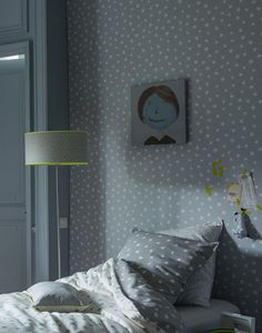 papier peint time uni yellow behangpapiertjes voor the kids express pinterest. Black Bedroom Furniture Sets. Home Design Ideas