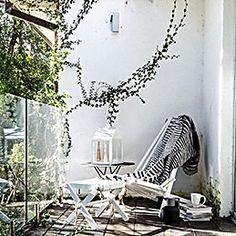 by design - EcoFurn - ecochair birch white Linen Pillows, Foot Rest, Outdoor Furniture, Outdoor Decor, Indoor Plants, Hammock, Birch, Greenery, Relax
