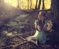 Wood's faery by ChristopheMaclaren
