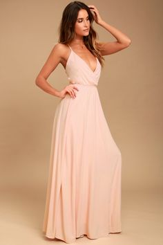 4a13422250 Everything s All Bright Blush Pink Backless Maxi Dress Blush Pink Maxi Dress