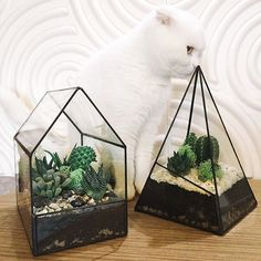 Forest Fairy Garden Miniature Stump Flower Pot Treehouse Sculpture Planter Multilayer