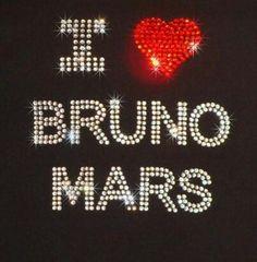 I love bruno mars