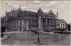 Iasi - Teatrul Vasile Alecsandri   - 1910 Past, Survival, Places To Visit, Louvre, Building, Pictures, Travel, Painting, Vintage