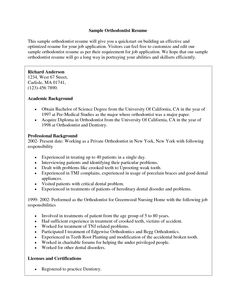 Dental Assistant Resume Example Resume Examples