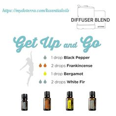 Need a lift? Add these to your diffuser for a healthy lift! Black Pepper, Frankincense, Bergamot and White Fir! www.mydoterra.com/kssentialoils