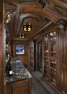 Man Cave bar Design, Pictures, Remodel, Decor and Ideas Man Cave Bar, Cigar Room, Man Room, Bars For Home, Architecture, My Dream Home, Tiny House, Beautiful Homes, Beautiful Kitchens