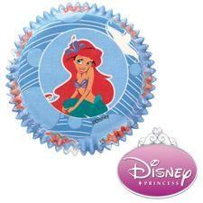 Disney Princess Ariel Baking Cups