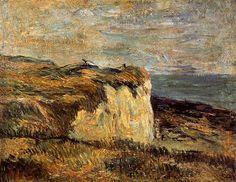 Cliff near Dieppe - Paul Gauguin