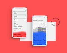 Mobile Ui Design, App Ui Design, User Interface Design, Interactive Poster, Interactive Design, Applications Mobiles, Creative Poster Design, App Design Inspiration, Book Layout