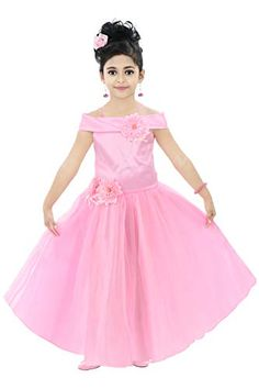Stylish Dresses For Girls, Gowns For Girls, Girls Wear, Nice Dresses, Girls Dresses, Fancy Dress, Pink Dress, Lehenga Choli, Ball Gowns