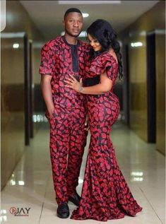 African couples outfits, African fashion, African attire, African mens wear, Shirt and pant. Couples African Outfits, African Dresses Men, Latest African Fashion Dresses, Couple Outfits, African Print Fashion, African Attire, African Women, Ankara Stil, Aesthetic Yellow