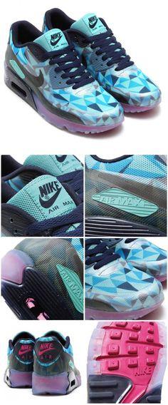 Nike Air Max 90 ICE: Barley Blue OMG!!!