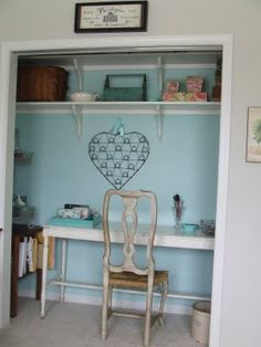Closet makeover anyone? =) From: :{the cottage nest}: In the Closet