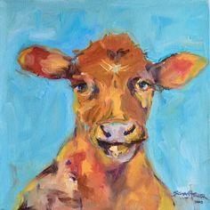 12 x 12 oil on canvas Susie Elder Nashville, Oil On Canvas, Moose Art, Artist, Painting, Animals, Animales, Animaux, Artists