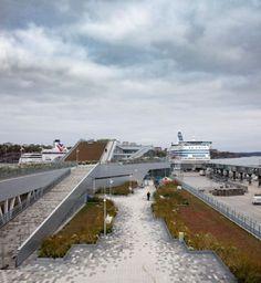 Värtaterminalen New ferry terminal
