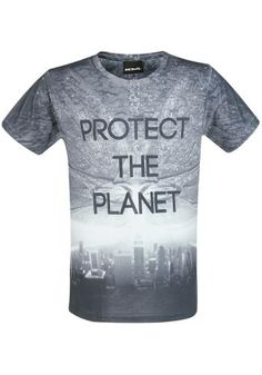 """Classica T-Shirt uomo """"Protect The Planet"""" del film #IndependenceDay."""