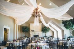 Photography : Jessica Janae | Venue : Sleepy Ridge Country Club | Event Planning : Rothweiler Event Design- Danielle Rothweiler Read More on SMP: http://www.stylemepretty.com/2015/11/09/dancing-with-stars-pro-lindsay-arnolds-utah-wedding/