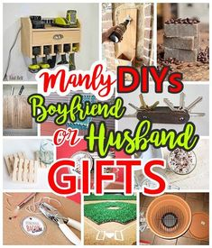 38 great housewarming gift ideas for men gift ideas pinterest best diy crafts ideas do it yourself manly gift ideas for boyfriends husbands sons solutioingenieria Gallery