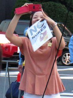 2013.8.16 国会正門前スピーチエリア