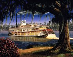 Mississippi River Steamboats - so American, so Southern