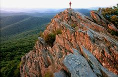 8 of the Best Day Hikes in Virginia - lots of great info here. Humpback Rocks | Waynesboro, VA | George Washington National Forest | 1 Mile - 7 other locations listed at the link.