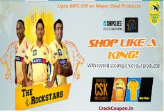 #IPL Carnival 2015: Upto 80% Off on major #deal products from #CrackCoupon