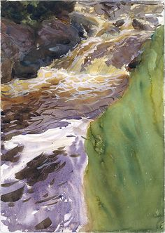 Rushing Water John Singer Sargent (American, Florence 1856–1925 London)