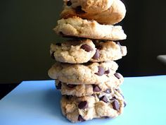 thick and chewy homemade chocolate chip cookies