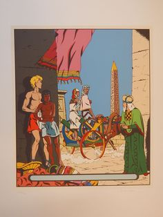 Martin, Jacques. - Zeefdruk Archives Internationales - Alex, Le Sphinx d'or - (1994) - W.B.