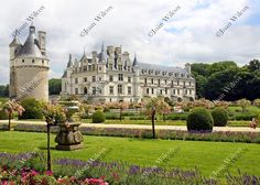 Chenonceau Castle & Gardens Loire Valley Chenonceaux, France Floral Botanical CHOOSE STYLE Original Fine Art Photography Wall Art Photo Print. See all 4 choices! Château de Chenonceau is a French castle spanning the River Cher, near the small village of Chenonceaux in the Loire Valley. A Beautiful fairytale castle, inside and out this castle is full of rich historic content. Choose from 4 different views of this magnificent castle! Beautiful, unique and all original, prints by Joan…