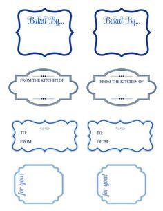 SIMPLE free labels printables - Buscar con Google