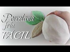 Como hacer Porcelana Fría casera (receta) // Cold porcelain recipe - YouTube